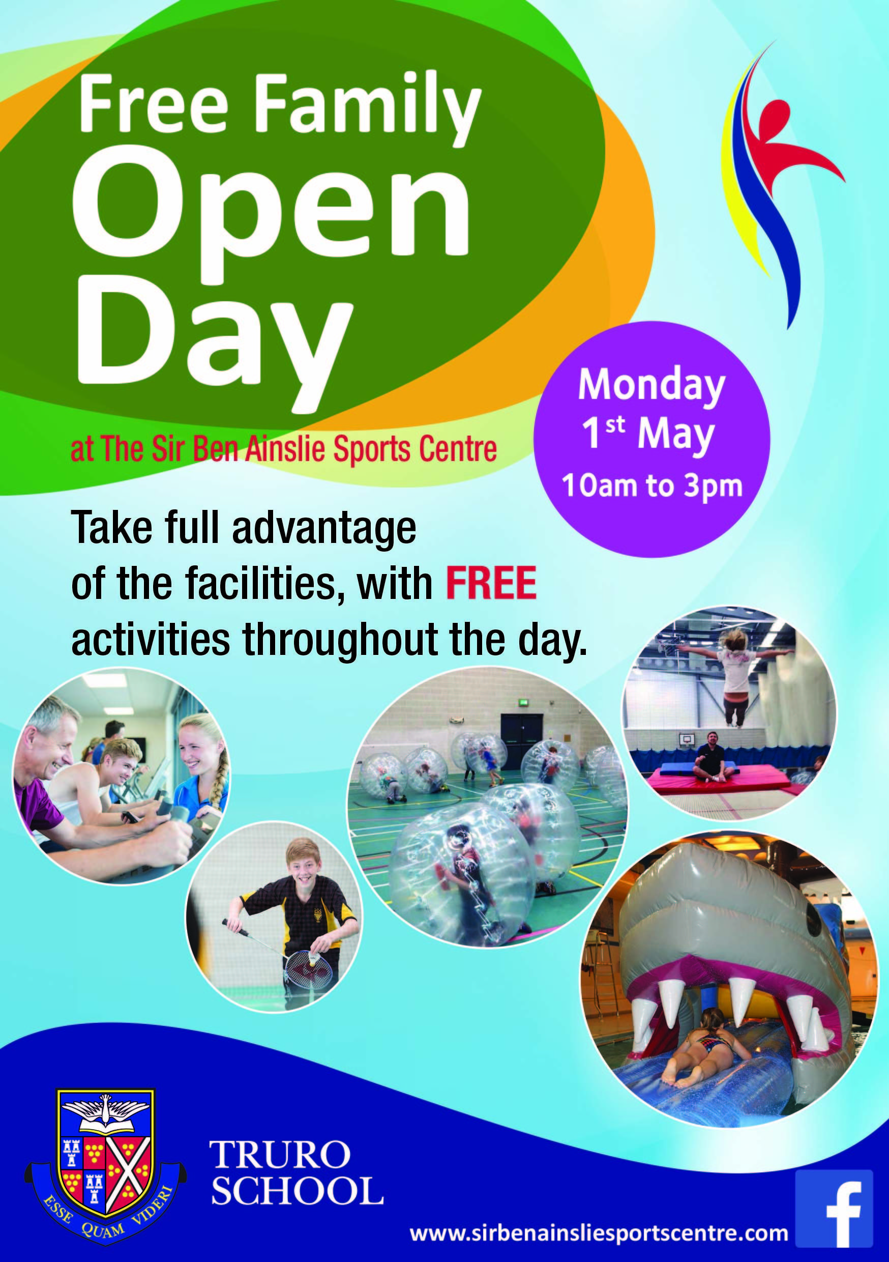 Free Family Fun Day Sir Ben Ainslie Sports Centre Cornwall