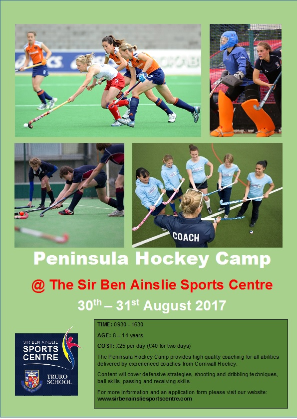 Peninsula Hockey Camp poster Aug 17 copy